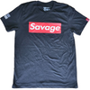 Men's T-Shirt - Savage Box - Black - Savage Barbell
