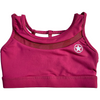 Sports Bra - 5 Strap Deep Raspberry - Savage Barbell