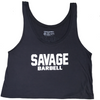 Crop Top - Suicide Squad - Dark Gray - Savage Barbell