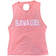 CrossBack Tank Top - Peaches n Cream