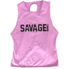 CrossBack Tank Top - Wild Orchid - Savage Barbell