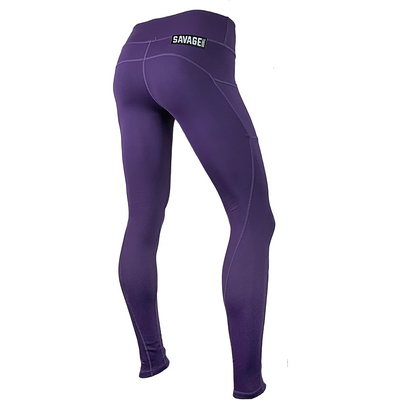 Leggings - Plum - Savage Barbell
