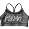 Sports Bra - Black - Savage Barbell
