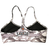 Sports Bra - Camo - Savage Barbell