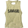 CrossBack Tank Top - Army - Savage Barbell