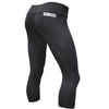 "18"" Crop Leggings - Black - Savage Barbell"