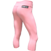 Capri Leggings - Pink - Savage Barbell