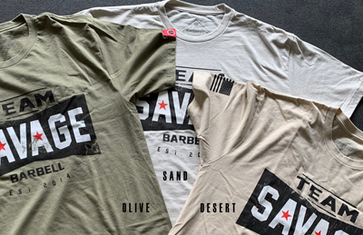 Mens T-Shirt - 2018 Team Savage Barbell - Savage Barbell