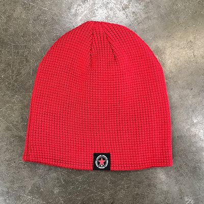 Gym Rat Waffle Knit Savage Barbell Beanie - Savage Barbell