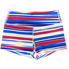 Booty Shorts - Red White and Booty - Savage Barbell