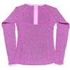 Long Sleeve Yoga Top - Violet