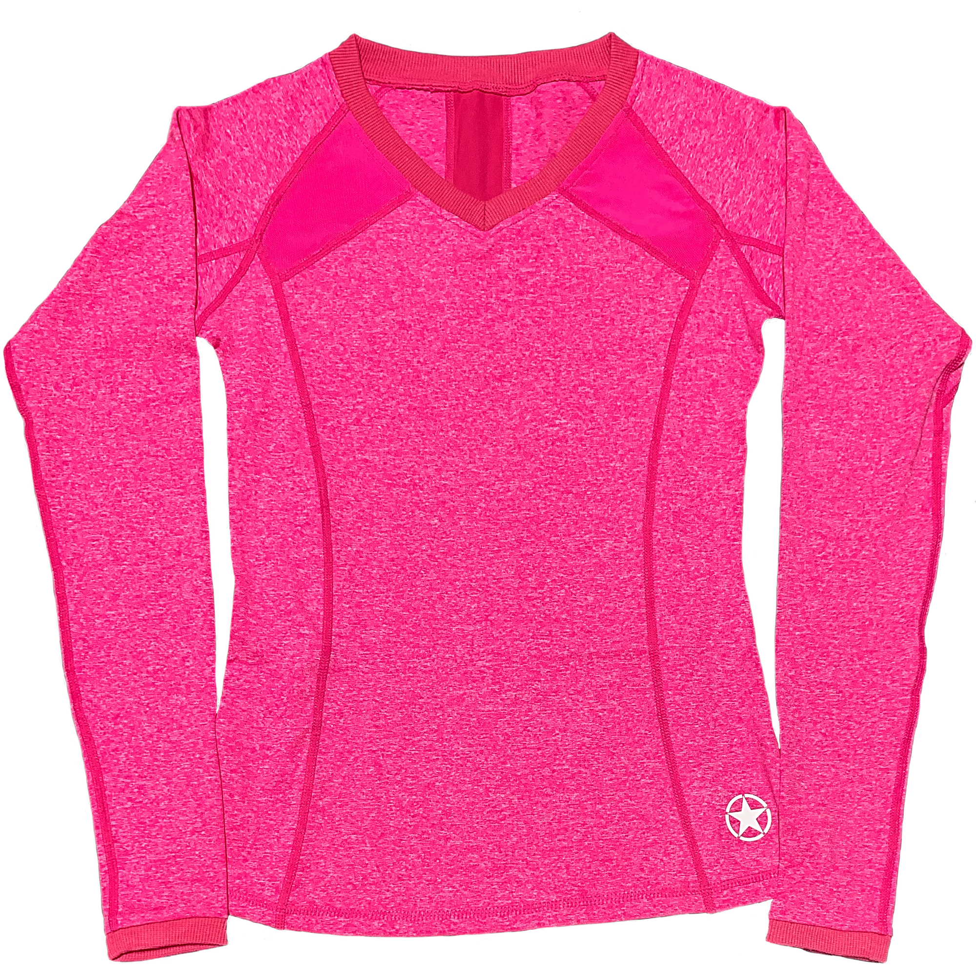 Long Sleeve Active Top - Hot Pink - Savage Barbell Apparel