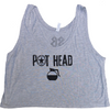 Crop Top - Pot Head - Savage Barbell