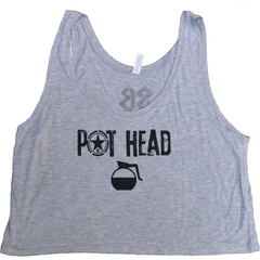 Pot Head - Savage Barbell Women's Crop Top