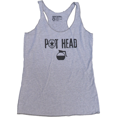 Tank Top - Pot Head - Savage Barbell