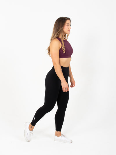 "24"" High Waist Leggings - Black"