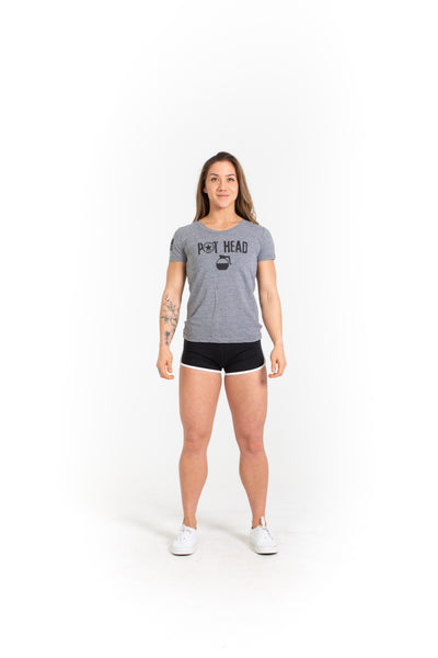 Women's T-Shirt - Pot Head - Savage Barbell