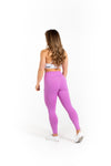 "24"" High Waist Leggings - Bubblebum - Savage Barbell"