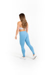"28"" Full Leggings - Tidal Blue - Savage Barbell"