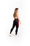 "28"" Full Leggings - Black Widow - Savage Barbell"