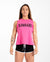 CrossBack Tank Top - Hot Pink