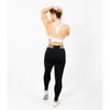 Leggings - Savage Waist-band Ankle Length - Black