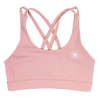 Sports Bra -4 Strap Low Cut - Blush - Savage Barbell