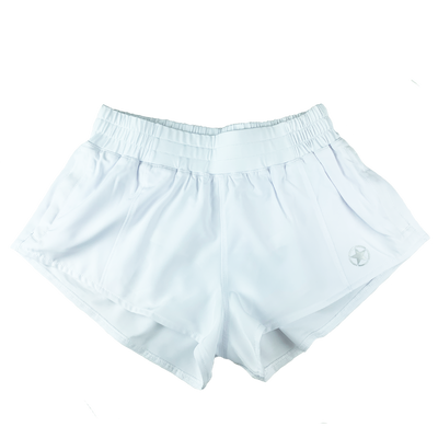 Pacer X Series Shorts - White - Savage Barbell