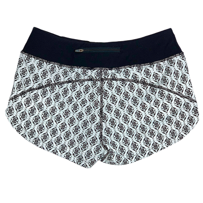 Runner Shorts - White SB - Savage Barbell