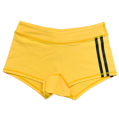 Booty Shorts - Viper Low Rise - Yellow - Savage Barbell
