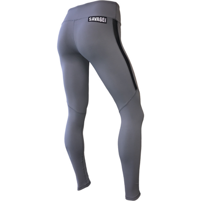 "28"" Leggings - Alloy - Savage Barbell"