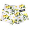Booty Shorts - Lemon Drop - White - Savage Barbell