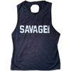 CrossBack Tank Top - Black - Savage Barbell