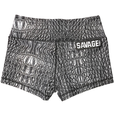Booty Shorts - Black Mamba - Savage Barbell