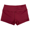 Booty Shorts - Burgundy - Savage Barbell