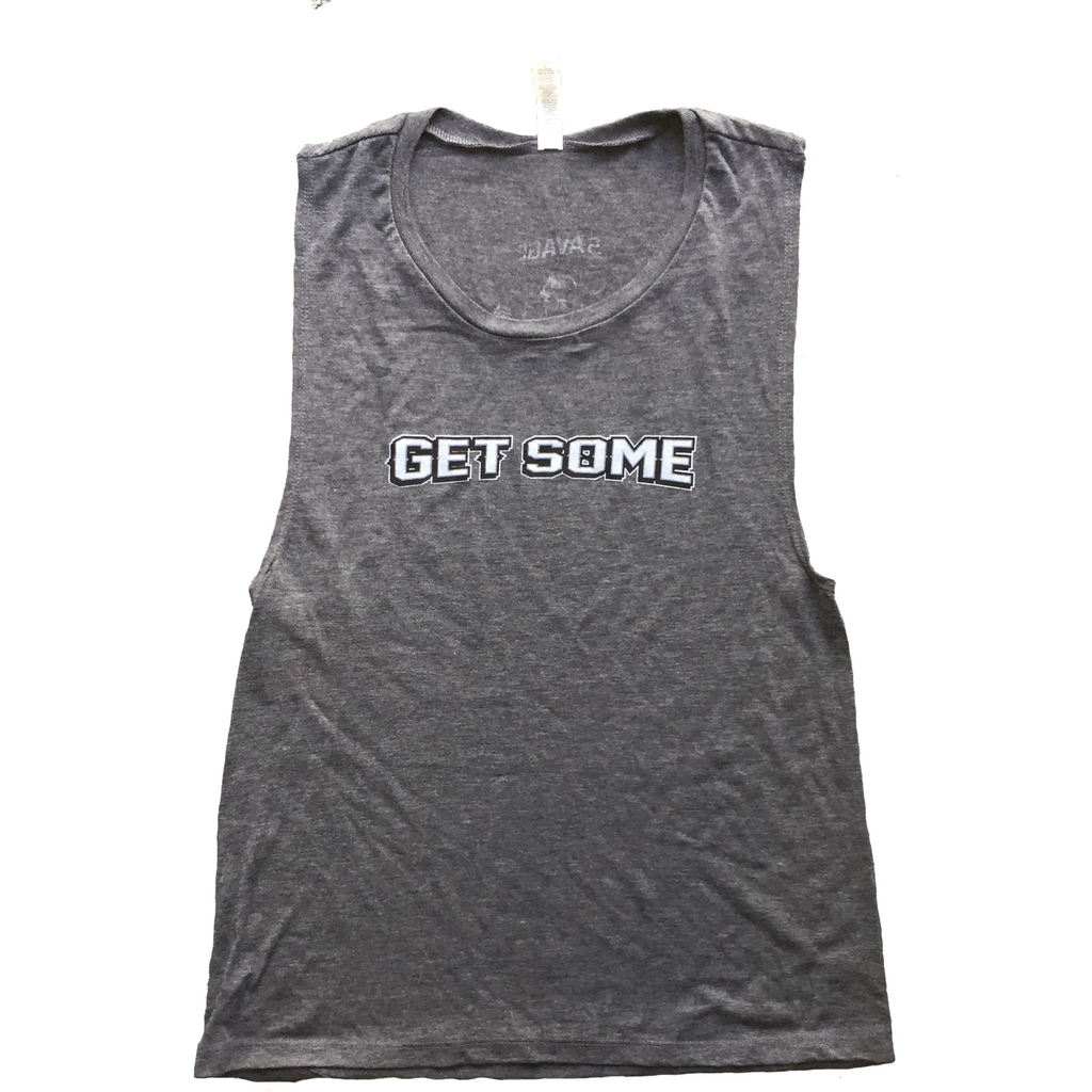 Get Some - Savage Barbell Women's Muscle Tee
