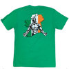 Mens T-Shirt - 2020 Irish Savage - Green - Savage Barbell Apparel