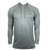 Mens Pull Over Hoodie - Athletic Gray