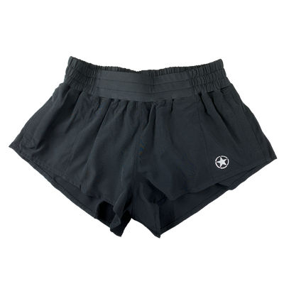Pacer X Series Shorts - Black - Savage Barbell