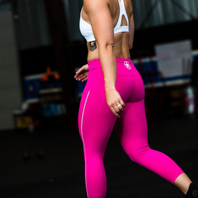 Capri Leggings - Atomic Raspberry - Savage Barbell
