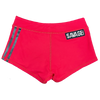 Low Rise Booty Shorts - Viper Red - Savage Barbell