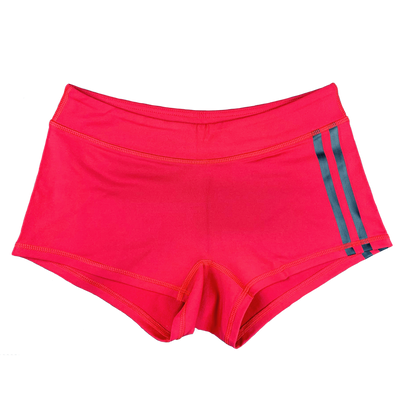 Low Rise Viper Shorts - Red Striped - Savage Barbell