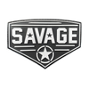 Savage Patch - Diamond - White Star - Savage Barbell