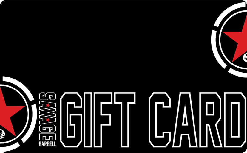 A Savage Barbell Gift Card - Savage Barbell