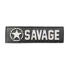 Savage Patch - Banner - White Star - Savage Barbell