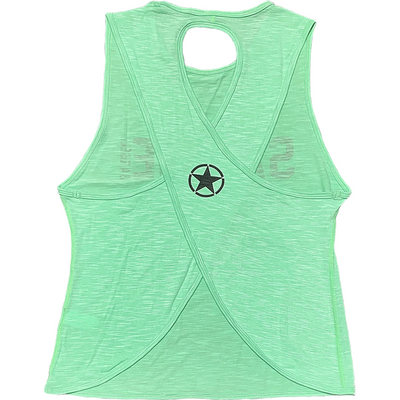 CrossBack Tank Top - Sea Foam - Savage Barbell