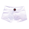 Booty Shorts - White - Savage Barbell