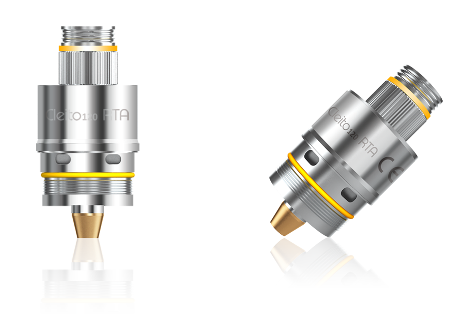 Cleito 120 RTA adapter system