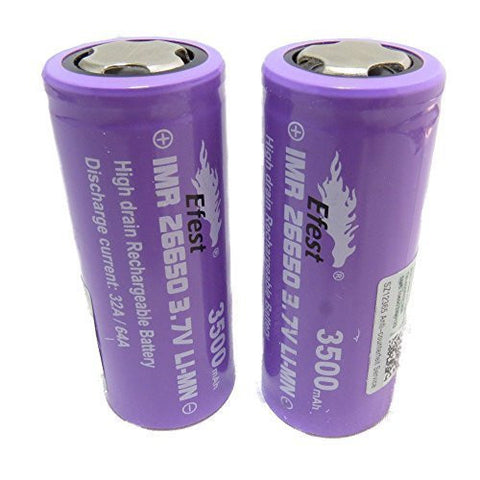 Efest IMR 26650 3500mah 3.7V rechargeable battery