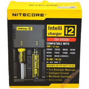 Nitecore Intellicharger l20 LCD Li-ion Battery Charger